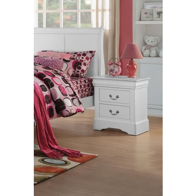 24503 WHITE L.P III NIGHTSTAND