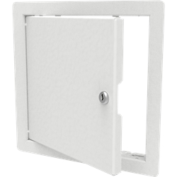 Keyed Lock Architectural Access Door with Flange