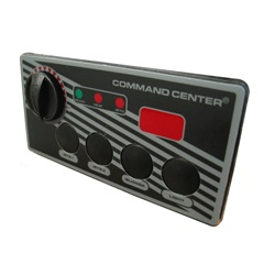 TOPSIDE: COMMAND CENTER - 4 BUTTON - 120V - 10' - DIGITAL DISPLAY