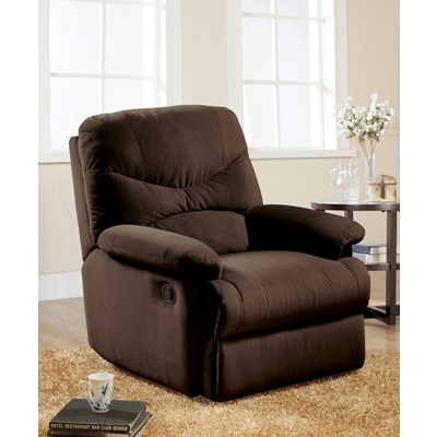 00632W CHOCOLATE MFB RECLINER