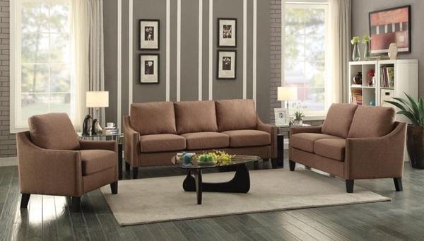 Acme Furniture - 53765 BROWN FABRIC SOFA