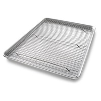 Extra Large Nonstick Cooling Rack and Pan Set