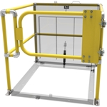 Floor Door Safety Railing