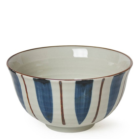 BLUE/BROWN TOKUSA BOWL