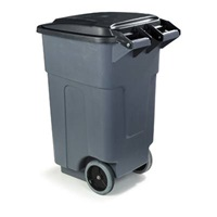 Carlisle 50 Gallon Gray Roll-Away Container