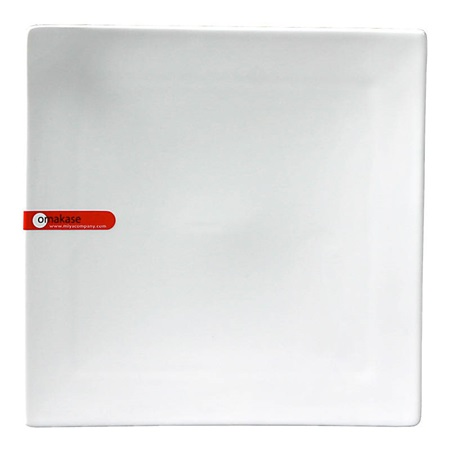 Corner-Tipped Sq. Plate 8.25""