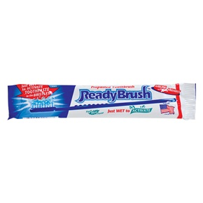 ReadyBrush 2-in-1 Toothbrush & Toothpaste