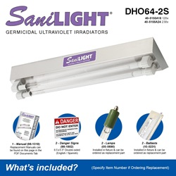 SaniLIGHT DHO64-2S Included Accessories
