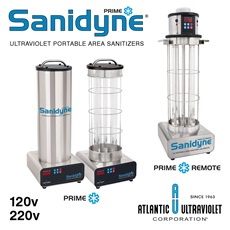 Sanidyne® Prime UV Portable Air and Surface Sanitizers - New Models!