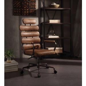 92108 BROWN EXECUTIVE OFFICE CHAIR