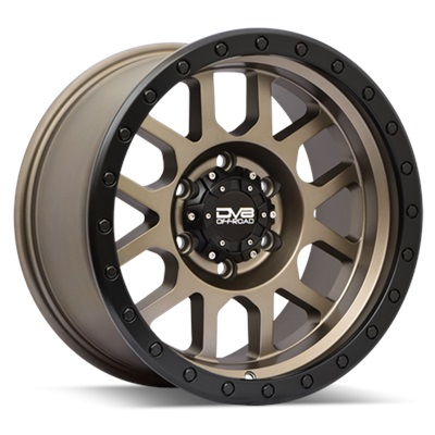 REV Off Road 883 Series Beadlock 17x9 6x139.7- Matte Bronze