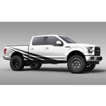 Rising Sun Truck Graphics (satin black)