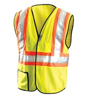 High Visibility Premium Mesh Two-Tone Safety Vests