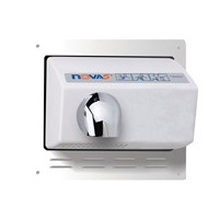 World Dryer Recessed Kit - White Trim