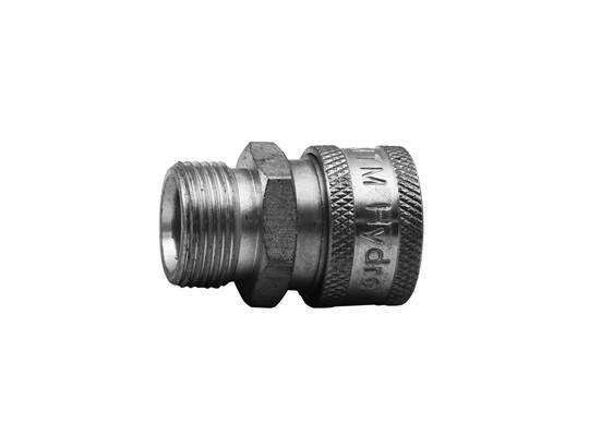 "MTM Hydro M22 Plug (14MM) X 3/8"" Stainless QC Coupler"