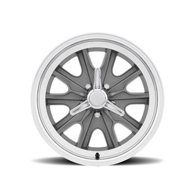 17 x 7 Legendary HB45 Alloy Wheel, 5 on 4.5 BP, 4.25 BS, 5 Lug, Charcoal/ Machined
