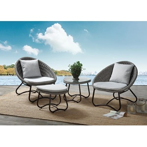 45055 Elof 4Pc Patio Set