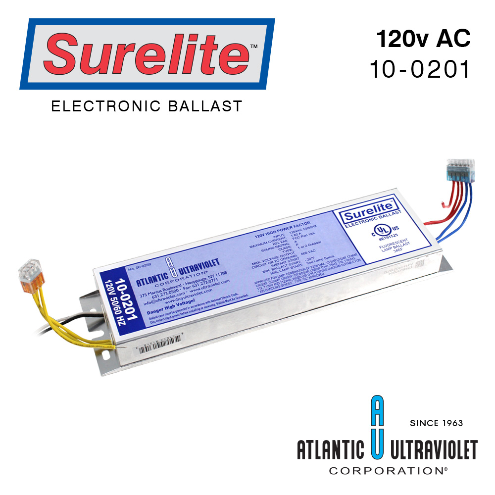 Surelite Ballast 10 0201 Buyultraviolet 2 Light Wiring Diagram Eb Mt1 219 1 5 6 0 Includes
