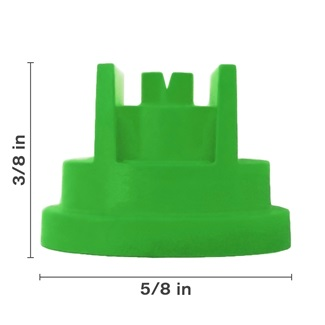 Polyacetal Green 80° Nozzle Spacing