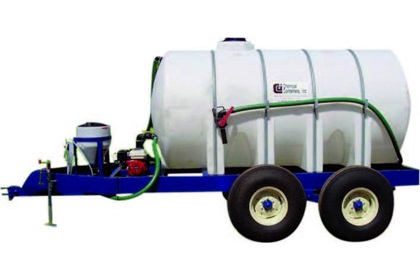 1625 Gallon Tandem Axle Chemical Mixing Trailer