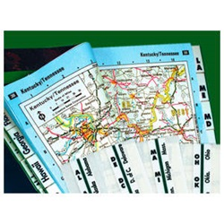 Road Atlas Index Tabs