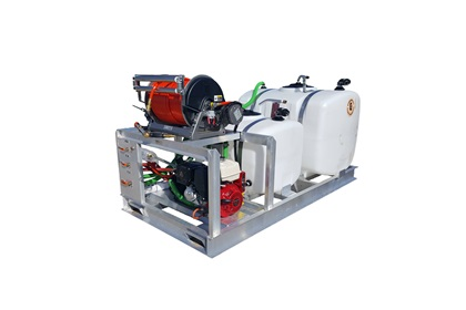 200/100 Gallon Dual Tank Sprayer Skid
