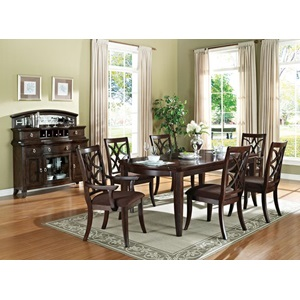 60255 WALNUT DINING TABLE