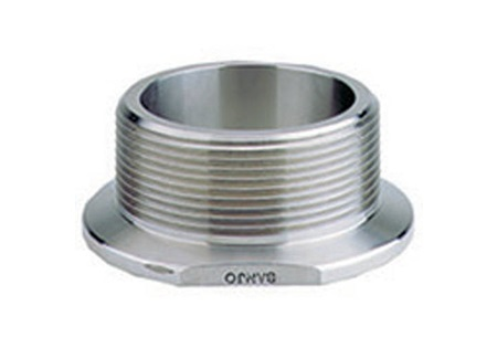 "Banjo Stainless Steel 2"" Flanged Coupling x Male NPT"