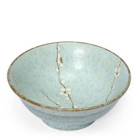 "Spring Blossoms 8.25"" Flared Bowl"