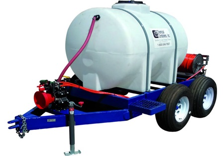 525 Gallon Tandem Axle Spray Trailer