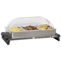 Cadco WTBS-3RT Triple Buffet Server