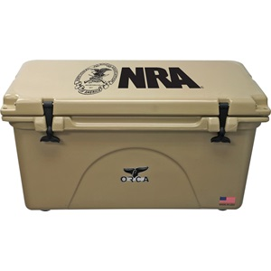 NRA Tan 75 Quart