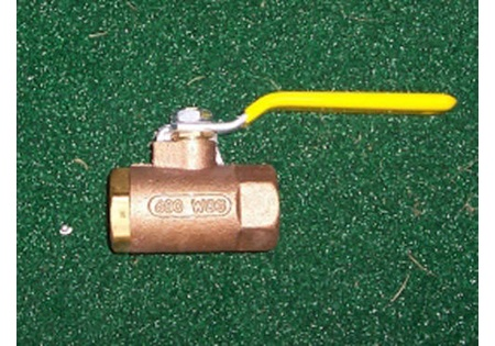 "3/4"" Brass Ball Valve"
