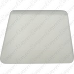 White Rounded Corner Hard Card