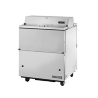 True Manufacturing TMC-49-HC Mobile Milk Cooler Forced-Air