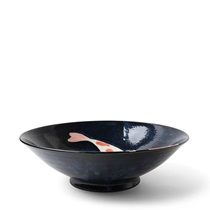"Namako Koi 9.75"" Serving Bowl"