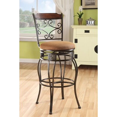 96045 SWIVEL BAR CHAIR
