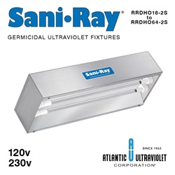 Sani•Ray Germicidal UV Fixtures - High Output
