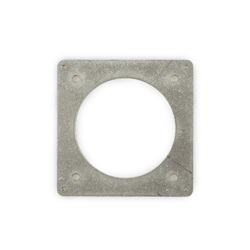 03.002 Aluminum Mounting Plate (VNSO) Overhead View