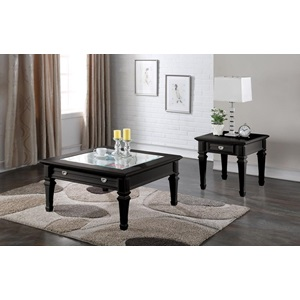 80535 BLACK COFFEE TABLE