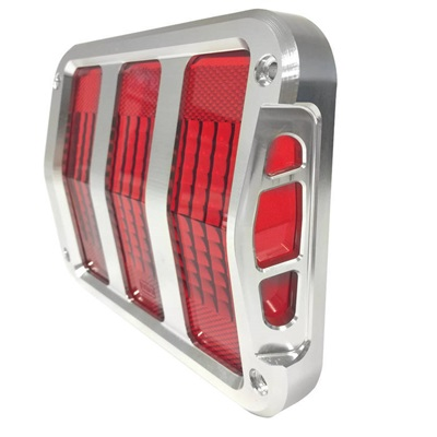 1964-66 Mustang Sidewinder™ Billet Tail Light Bezels