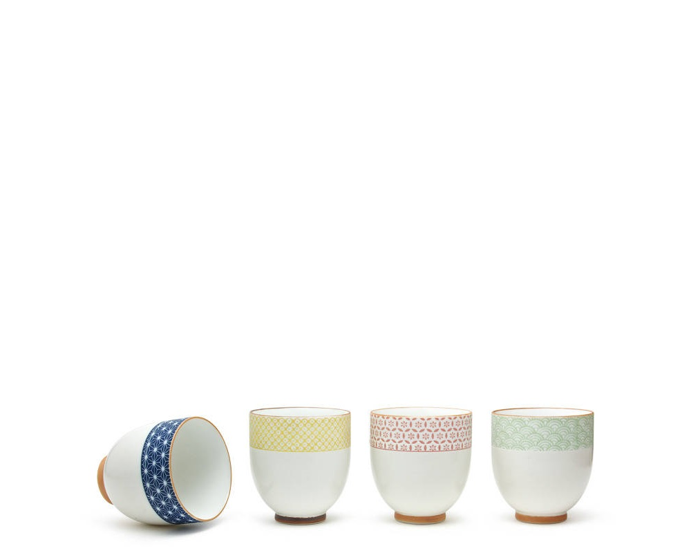 Sashiko Teacup Set 6 Oz.