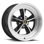 17 x 8 Legendary GT9 Alloy Wheel, 5 on 4.5 BP, 4.75 BS, Gloss Black / Machined