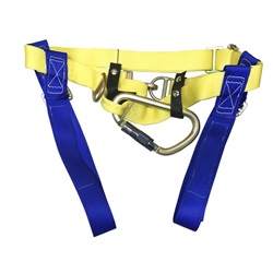"Gemtor NYC Safety Harness - Fits Waist Size 36"" to 50"" - Blue/Yellow"