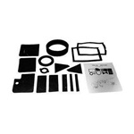 67-68 Heater Seal Kit without A/C