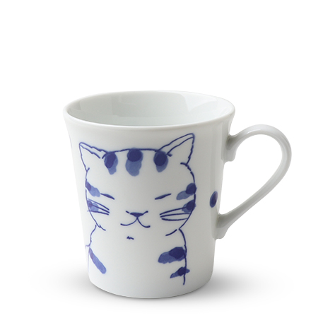 Blue Cats 10 Oz. Mug