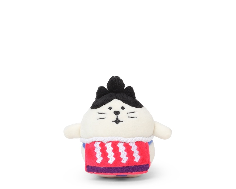 Plush Cat Sumo Small