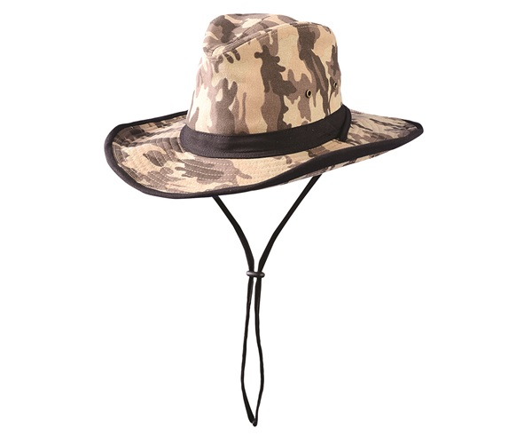 Flexible Brim High Crown Hat