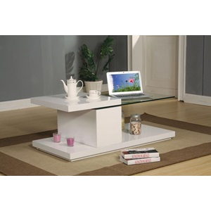 80805_KIT MARLA WH COFFEE TABLE
