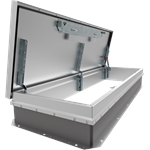 "30"" x 96"" Personnel Roof Hatch, Ship Stair Access, Aluminum"